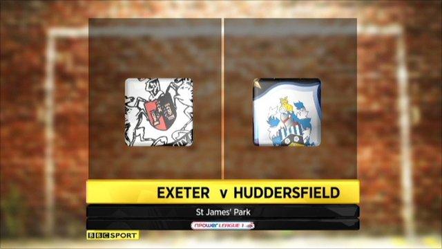 Exeter 1-4 Huddersfield