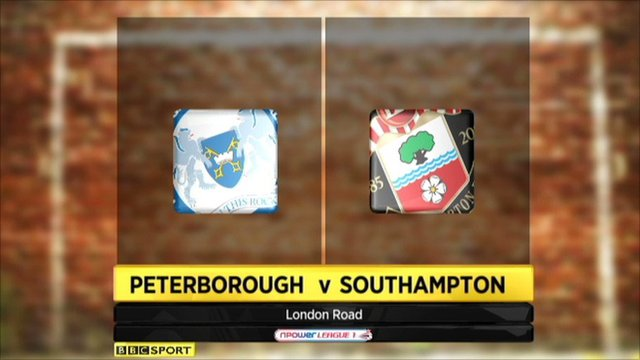 Peterborough 4-4 Southampton