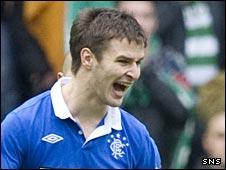 Rangers midfielder Jamie Ness