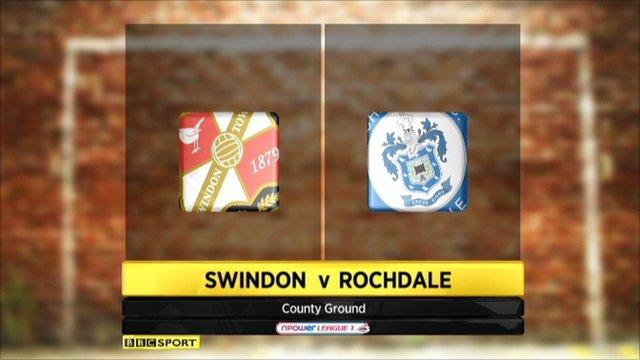 Swindon 1-1 Rochdale