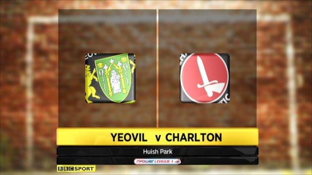 Yeovil 0-1 Charlton