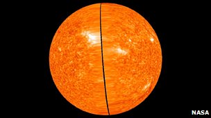 Image of the far side of the Sun based on high resolution Stereo data