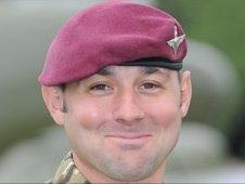 Company Sgt Maj Colin Beckett