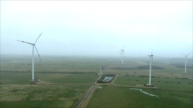Windfarms in Germany