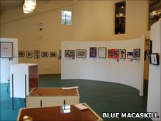 Carad gallery in Rhayader