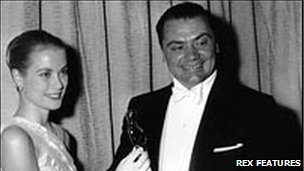 Grace Kelly with Oscar winner Ernest Borgnine