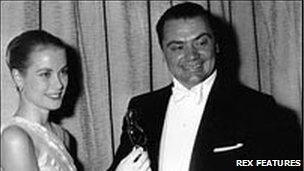 Grace Kelly with Oscar winner Ernest Borgnine