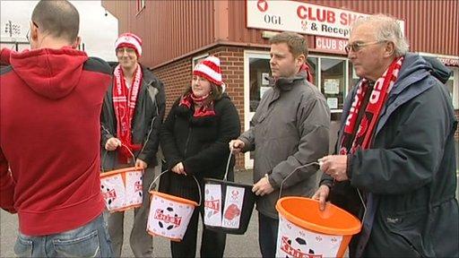 Kidderminster Harriers fundraising