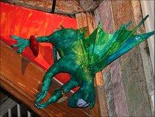 Dragon in Norwich