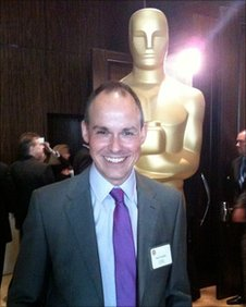 Paul Franklin at the Oscars ceremony