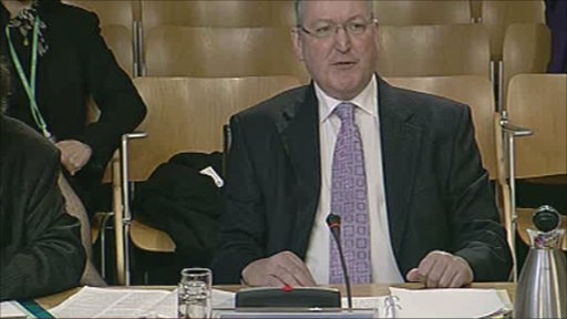 Community Safety Minister Fergus Ewing gives evidence to the Justice Committee.