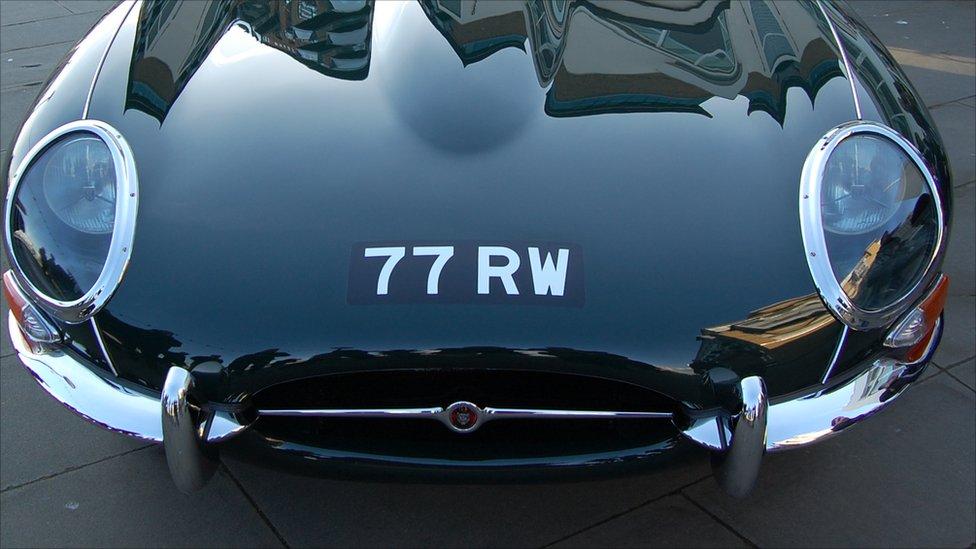 Jaguar E-type 77RW