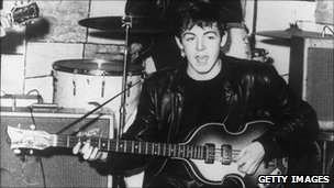Paul McCartney at The Cavern
