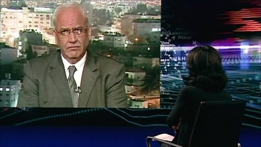 Saeb Erekat and Zeinab Badawi