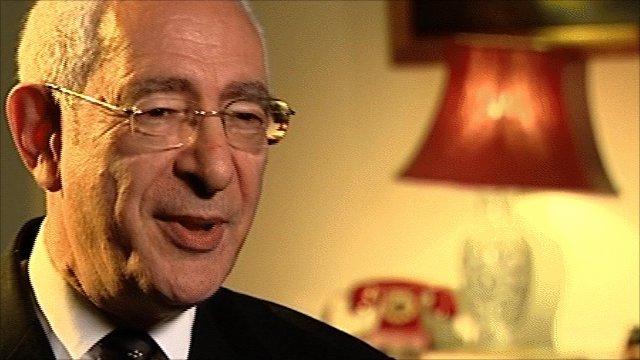 Former FA chairman Lord Triesman