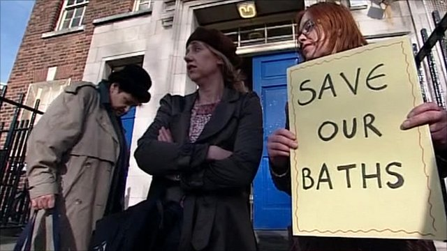 Anti-cuts protesters