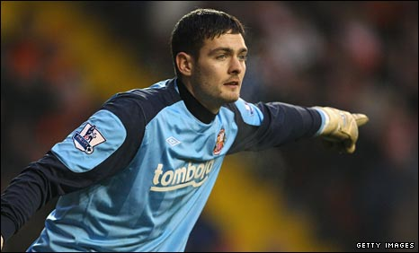 Scotland and Sunderland goalkeeper Craig Gordon