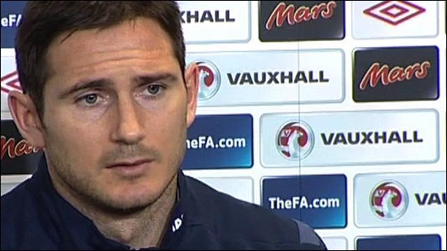 Lampard proud to lead England out