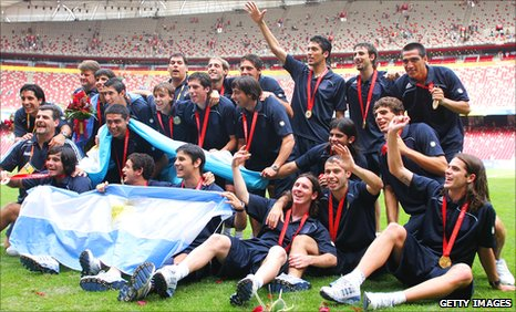Argentina's 2008 olympic gold medal-winning team