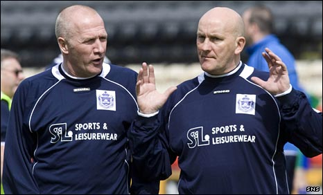 Chic Charnley and Jim Duffy