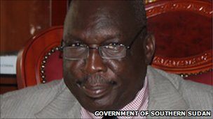 Jimmy Lemi Milla (Photo: Government of Southern Sudan)