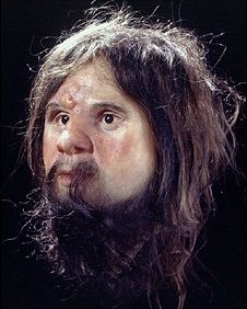 Cheddar Man reconstruction (NHM)