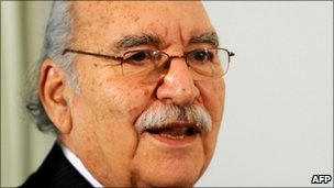 Tunisian interim President Fouad Mebazaa