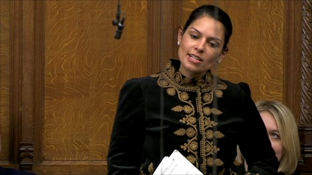 Conservative MP Priti Patel