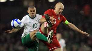 Jon Walters and James Collins