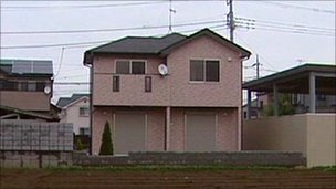 A house on the books of estate agent Yoshihiro Kanuma