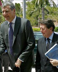 Man Utd chief executive David Gill and Sir Dave Richards