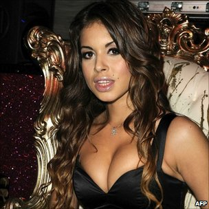 Karima El Mahroug - or Ruby - denies having sex with Mr Berlusconi