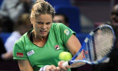 Belgium's Australian Open winner Kim Clijsters