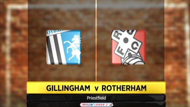 Gillingham 3-1 Rotherham