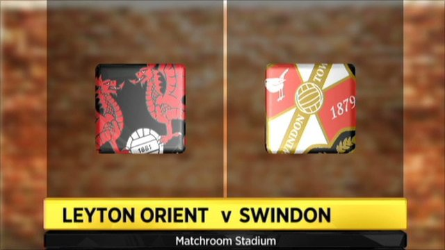 Highlights - Leyton Orient 3-0 Swindon