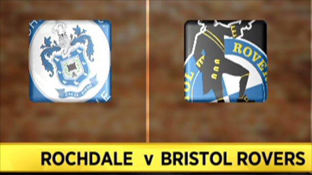 Rochdale 3-1 Bristol Rovers