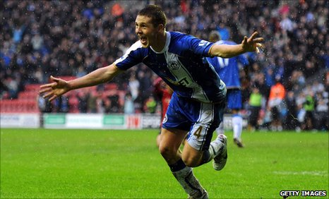 Wigan midfielder James McCarthy
