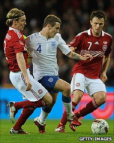 Jack Wilshere (centre) had a solid first half before he was withdrawn at the break
