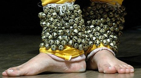 Musical anklets traditionally worn by dancing girls in the Shahi Mohallah area