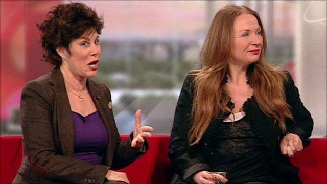 Ruby Wax and Judith Owen