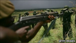Congolese soldiers ( file photo)