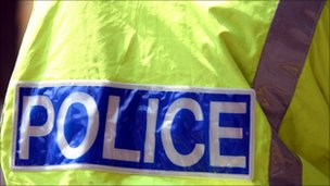 Police hi-vis jacket, BBC