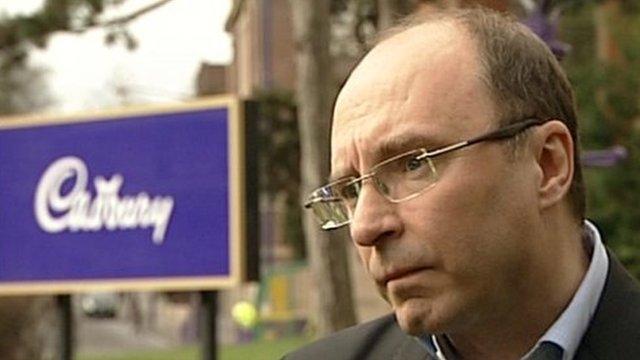 Nick Bunker, president of Kraft Foods UK & Ireland