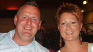 Steven McKee and Lisa Whyte
