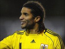 Bristol City goalkeeper David James