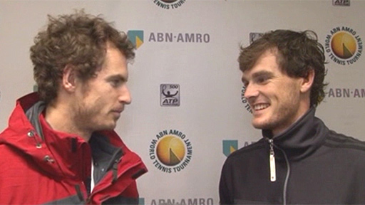 Andy Murray interviews brother Jamie