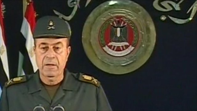 Egyptian military official