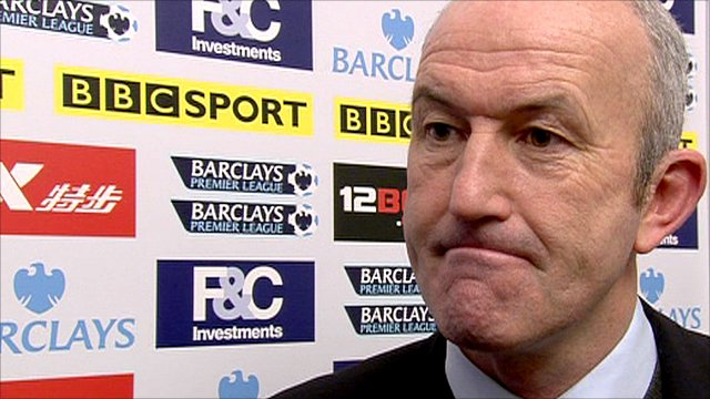 Stoke City manager Tony Pulis