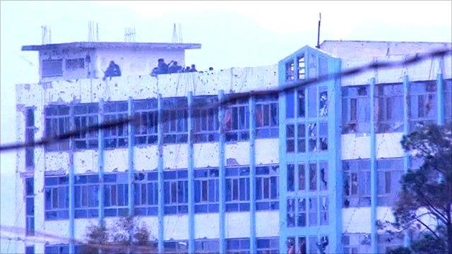 Kandahar police building
