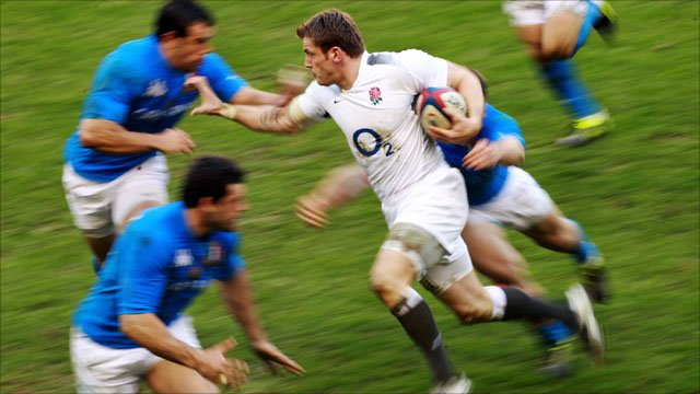 England v Italy highlights